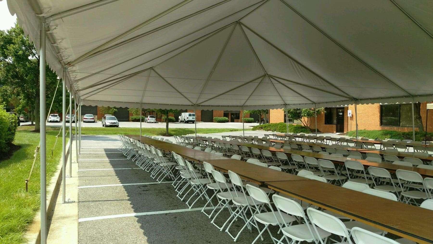 corporate tent rentals
