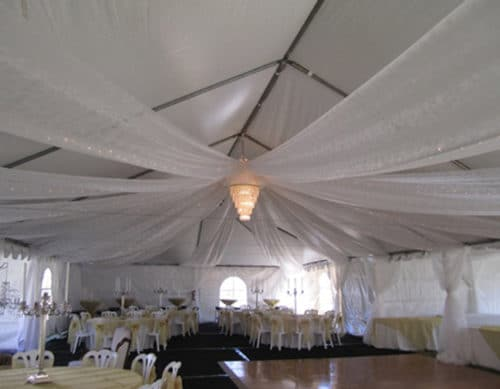 Tent Drape Ideas