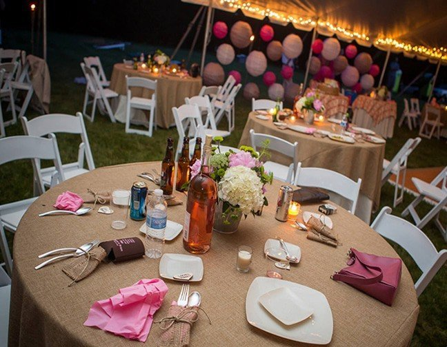 Wedding tent rentals tents for rent in md dreamers event rentals table linen rentals junglespirit Images