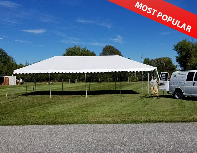 20 X 40 Frame Tent Rental Westminster Maryland Dreamers Event
