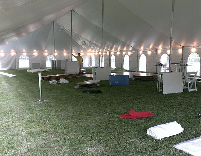 Globe Lighting Tent Rentals Westminster Md Dreamers