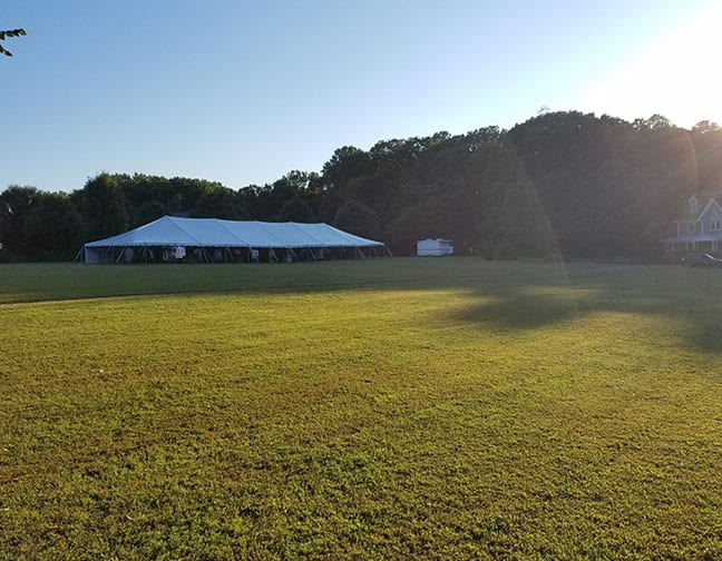 Large Wedding Tent Rental