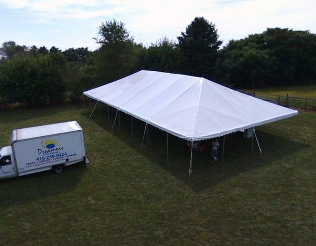 40 x 80 frame tent