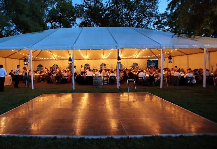Do you think the picture below is a hideous wedding? & Tent Reception Planning Tips | Hampstead MD - Dreamers Event Rentals