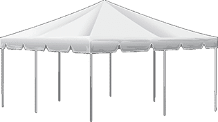 Small Frame Tent Rental