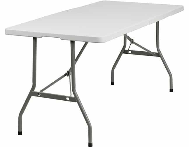 Small 6 Foot Table Rental