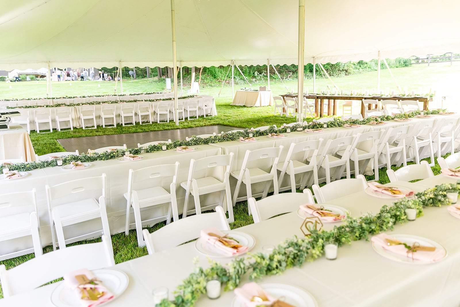 Vintage Tent Wedding