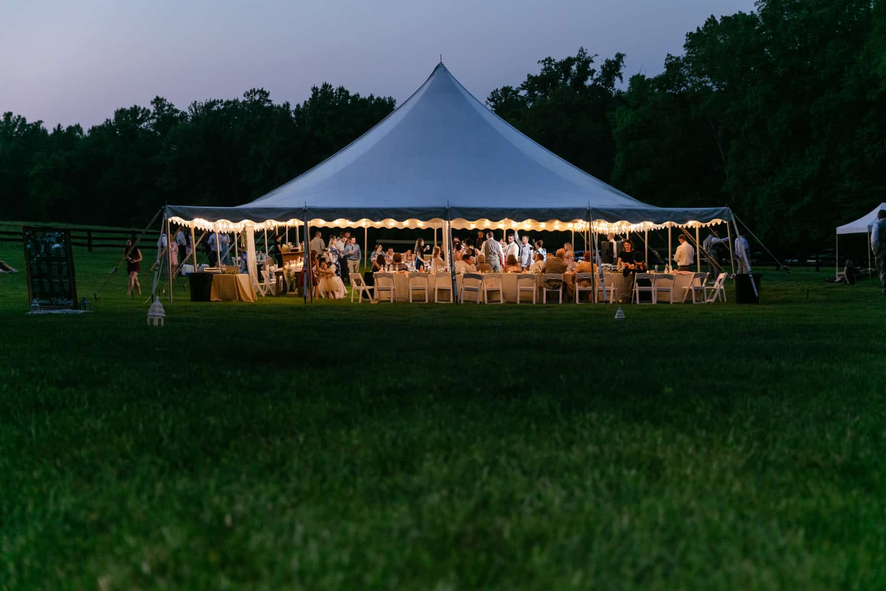 High Peak Wedding Tent Rental