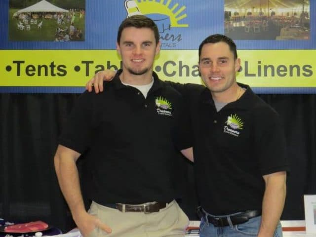 Owners of Dreamers Event Rentals